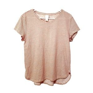 H&M Basic Striped Cotton Tee